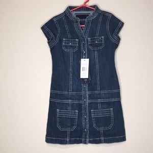 NWT Tommy Hilfiger Denim Dress Size 5 A-line